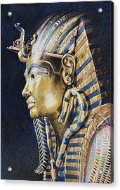 Tutankhamon Acrylic Print by Constance Drescher