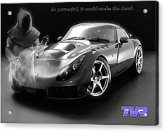 Tvr - Waking The Dead Acrylic Print by ISAW Gallery