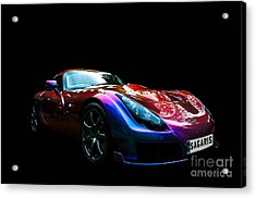 Acrylic Print featuring the photograph Tvr Sagaris by Matt Malloy