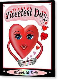 Tweetest Day Acrylic Print by Glenn Holbrook