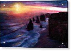 Twelve Apostles Acrylic Print by Gail Kirtz