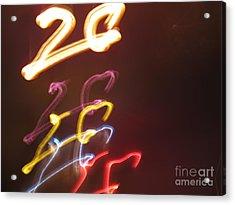 Acrylic Print featuring the photograph Twenty by Ausra Huntington nee Paulauskaite