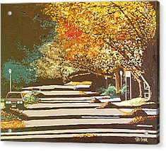 Twenty Second Street Acrylic Print by Paul Guyer