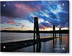 Twilight Acrylic Print by Alison Tomich