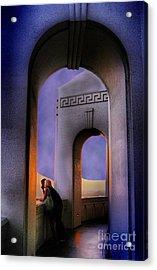 Twilight Arches Acrylic Print
