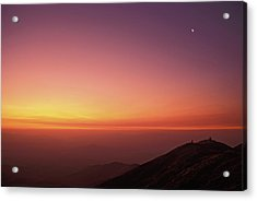 Twilight At Las Campanas Observatory Acrylic Print by Alan Dyer