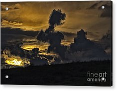 Twilight Clouds Acrylic Print by Christopher Purcell