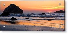 Twilight Coast Acrylic Print