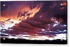 Twilight Colours Acrylic Print by Patrick Derickson