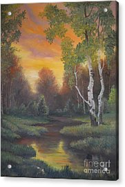 Twilight Fall  Acrylic Print