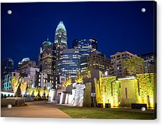 Acrylic Print featuring the photograph Twilight In Charlotte by Serge Skiba