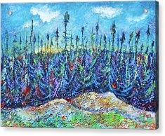 Twilight In The Taiga Acrylic Print