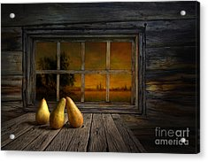 Twilight Of The Evening Acrylic Print by Veikko Suikkanen