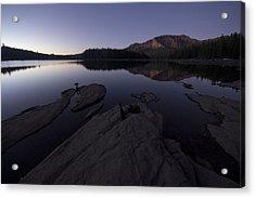 Twilight On Silver Lake Acrylic Print