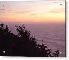 Twilight On The Coast Acrylic Print by Yvette Pichette
