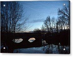 Twilight On The Potomac River Acrylic Print by Bill Helman