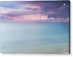 Twilight Over The Atlantic Acrylic Print by Photography  By Sai