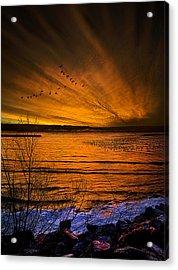 Twilight Sonnet Acrylic Print by Phil Koch