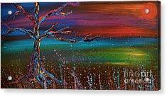 Twilight Sun Acrylic Print