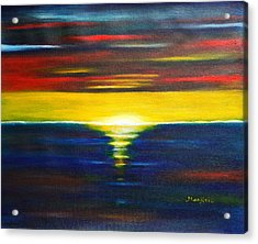 Twilight Sunset Acrylic Print