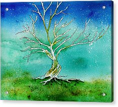 Twilight Tree Acrylic Print