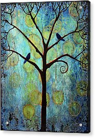 Twilight Tree Of Life Acrylic Print