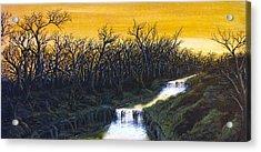 Twilight's Last Breath Acrylic Print by Pheonix Creations