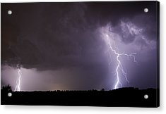 Twin Bolts Acrylic Print