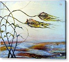 Twin Breezes Acrylic Print