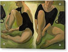 Twin Dancers Acrylic Print