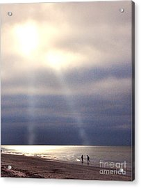 Twin Lights Acrylic Print