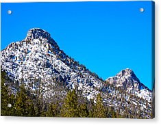 Twin Peaks 2 Acrylic Print by Stephen Evers