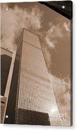 Twin Tower Acrylic Print