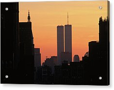 Twin Towers Acrylic Print