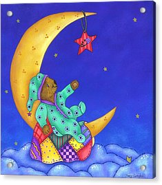 Twinkle Little Star Acrylic Print by Tracy Campbell