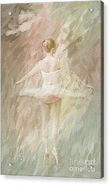 Twirling Acrylic Print by Linda Blair
