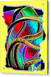 Twist And Shout 3 Acrylic Print by Will Borden