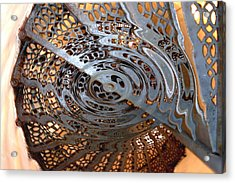 Twist Of Steel Acrylic Print