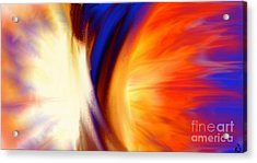 Twisted Acrylic Print by Anita Lewis
