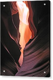 Twisted Canyon Acrylic Print