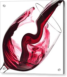 Twisted Flavour Red Wine Acrylic Print