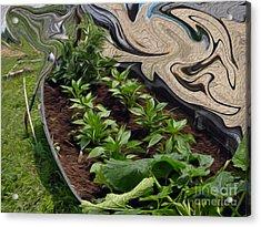 Twisted Garden Acrylic Print