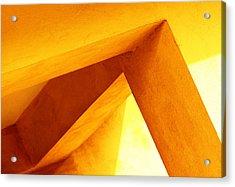 Twisted Geometry  Acrylic Print