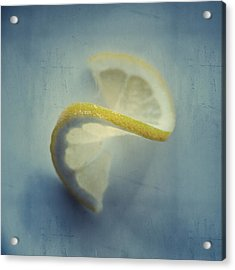 Twisted Lemon Acrylic Print by Ari Salmela