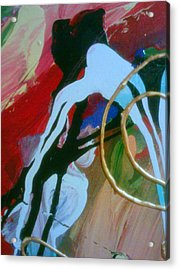 Acrylic Print featuring the painting Twisted Mind by Ray Khalife
