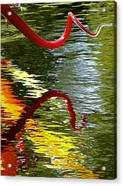 Twisted Ripples Acrylic Print by Charlie Brock