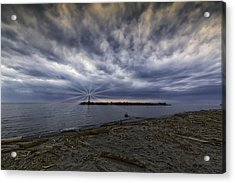 Twisted Sky Acrylic Print by Kris Rowlands