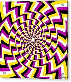 Twisting Spiral Acrylic Print