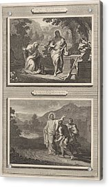 Two Appearances Of Christ After The Resurrection Acrylic Print by Artokoloro
