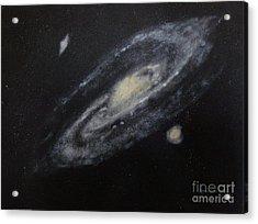 Two Arm Galaxy Acrylic Print by Tony Ramos
